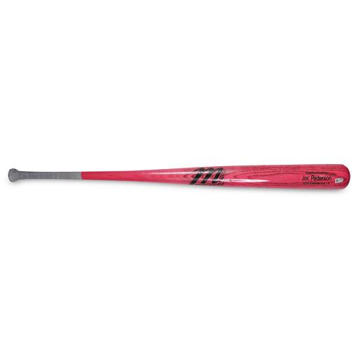 2015 Mother's Day Auction: Joc Pederson Game-Used Bat (Marucci) - HZ860139