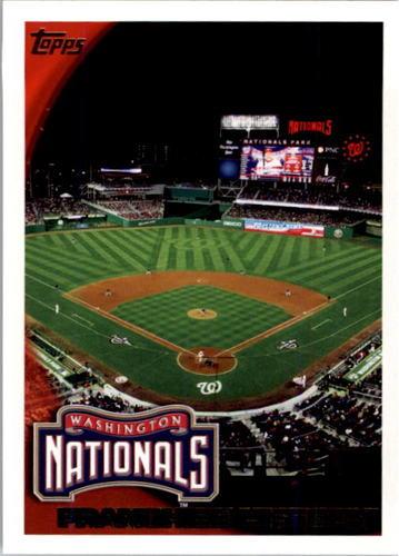 Photo of 2010 Topps #282 Washington Nationals
