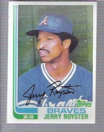 Photo of 1982 Topps #608 Jerry Royster