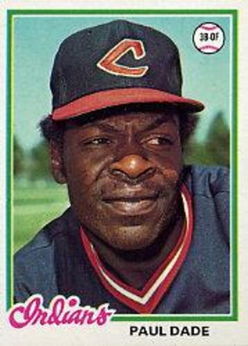 Photo of 1978 Topps #662 Paul Dade RC