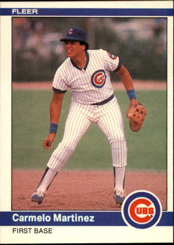 Photo of 1984 Fleer #497 Carmelo Martinez