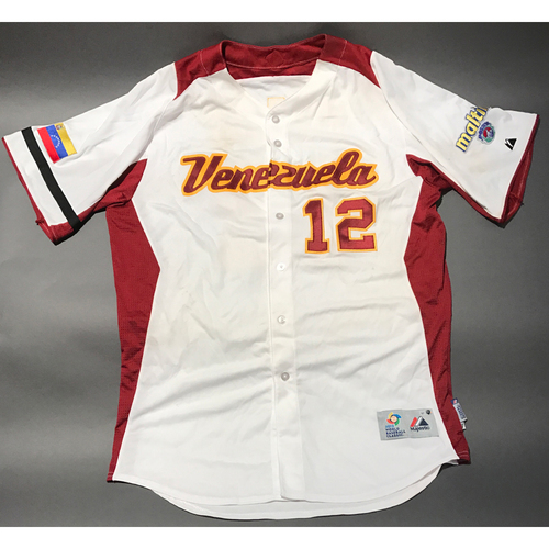Photo of 2009 World Baseball Classic Jersey - Venezuela Jersey, Martin Prado #12