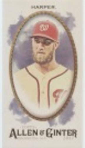 Photo of 2017 Topps Allen and Ginter Mini #50 Bryce Harper