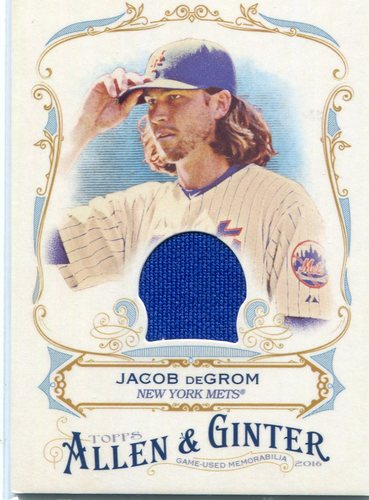 Photo of 2016 Topps Allen and Ginter Relics  Jacob deGrom