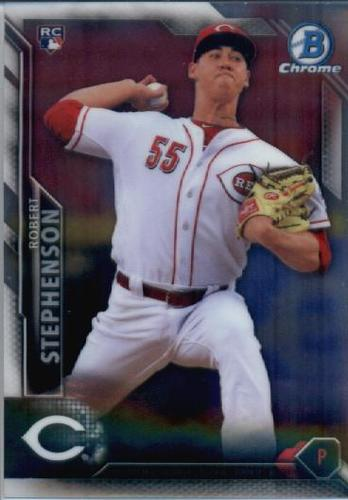 Photo of 2016 Bowman Chrome #99 Robert Stephenson RC