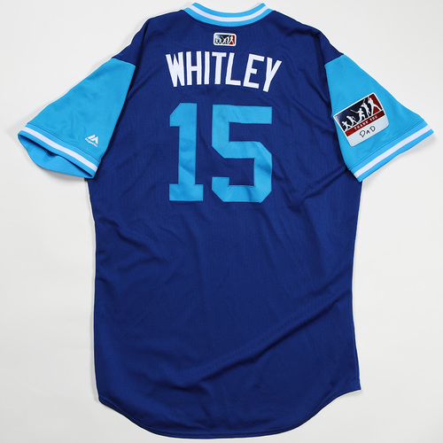 "Photo of Whit ""Whitley"" Merrifield Kansas City Royals Game-Used Jersey 2018 Players' Weekend Jersey"