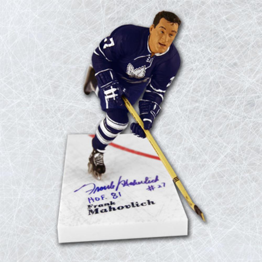 Frank Mahovlich Toronto Maple Leafs Autographed McFarlane Sports Picks Figure