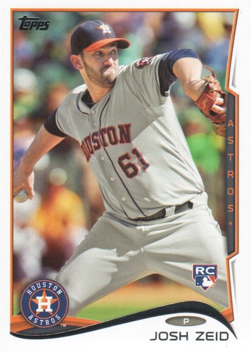 Photo of 2014 Topps #542 Josh Zeid RC