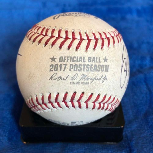Photo of UMPS CARE AUCTION: 2017 NLDS Crew Signed Baseball