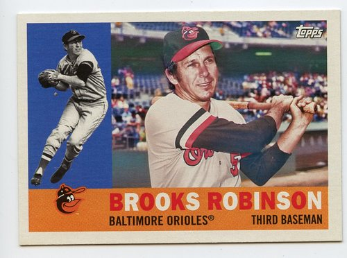 Photo of 2017 Topps Archives #35 Brooks Robinson