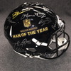 Walter Payton Man of the Year multi signed revolution helmet (including Drew Brees, Peyton Manning, Joe Green, Dan Marino, and Roger Staubach) signed by over 27 players