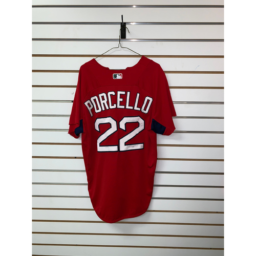 Photo of Rick Porcello Team Issued Home Batting Practice Jersey