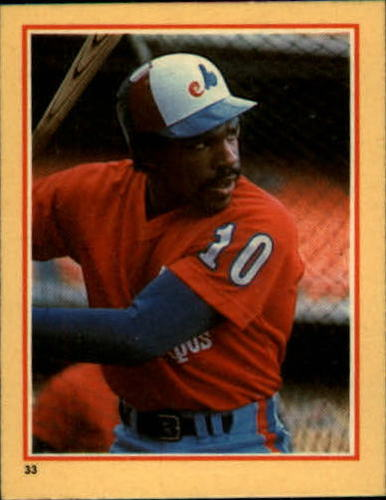 Photo of 1984 Fleer Stickers #33 Andre Dawson