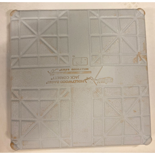 Photo of 2019 NLDS Game Used Base - Third Base Used During 8th and 9th Inning - 10/4/19