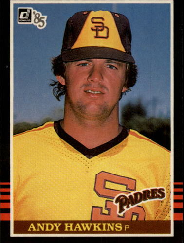 Photo of 1985 Donruss #528 Andy Hawkins