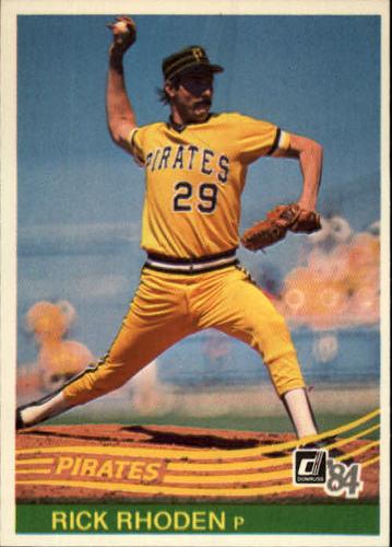 Photo of 1984 Donruss #552 Rick Rhoden