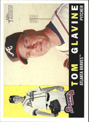 Photo of 2009 Topps Heritage #70a Tom Glavine