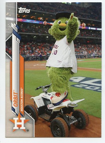 Photo of 2020 Topps Opening Day Mascots #M15 Orbit