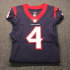 Crucial Catch - Texans Deshaun Watson Signed Game Used Jersey Size 40 (10/7/18)