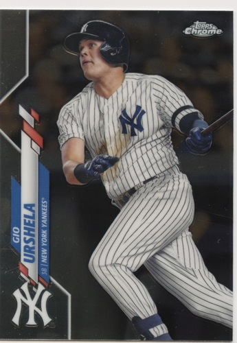 Photo of 2020 Topps Chrome #34 Gio Urshela