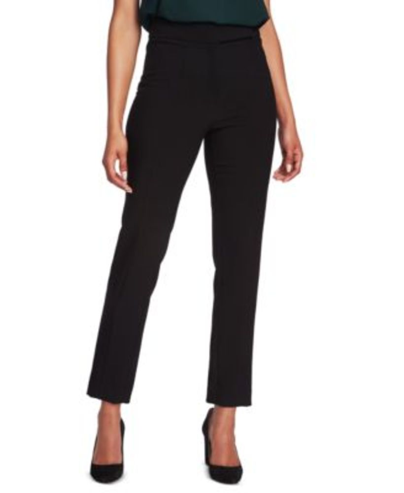 Photo of 1.State Womens Pintuck Flat Front Pants