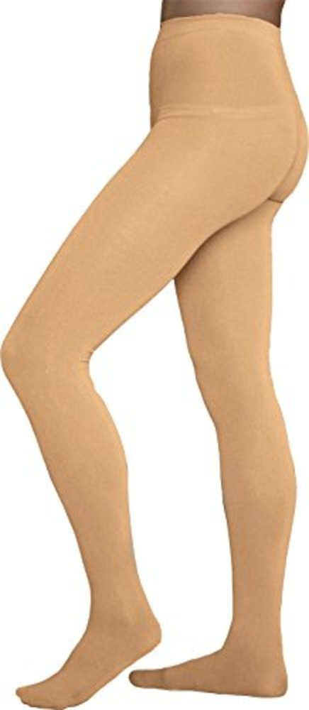 Photo of Chloe Noel Figure Skating Light Tan Footed Tights TF8830 Light Tan Child Extra Small (4-6)