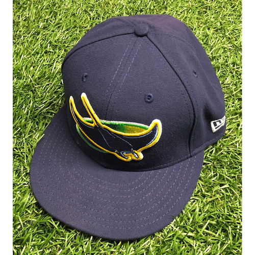 Photo of Team Issued Devil Rays Cap: Brandon Lowe #8