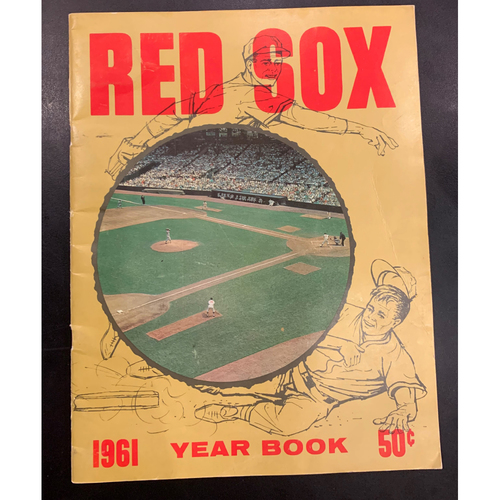 Photo of 1961 Red Sox Yearbook