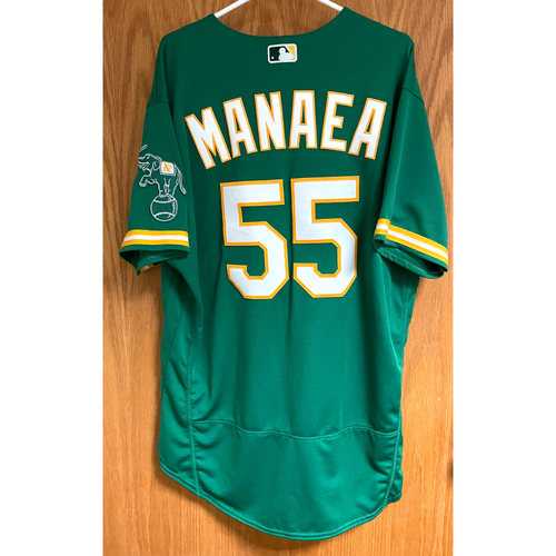 Photo of Game-Used Jersey - Sean Manaea (8/5/20)