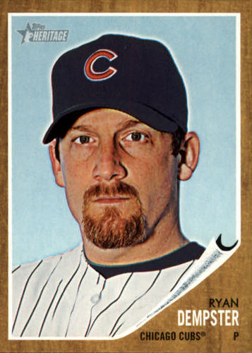 Photo of 2011 Topps Heritage #191 Ryan Dempster
