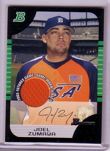 Photo of 2005 Bowman Draft Futures Game Jersey Relics #131 Joel Zumaya
