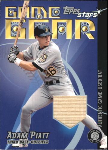 Photo of 2001 Topps Stars Game Gear Bats #TSRAP Adam Piatt A