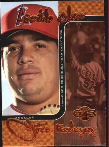 Photo of 2006 Topps Co-Signers Changing Faces Red #96B Bartolo Colon/Francisco Rodriguez