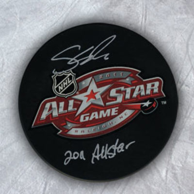 SHEA WEBER 2011 NHL All Star Game Autographed Hockey Puck