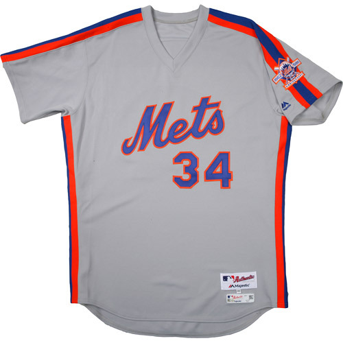 detailed look 18796 a84c7 MLB Auctions | New York Mets 1986 Throwback Complete Game ...