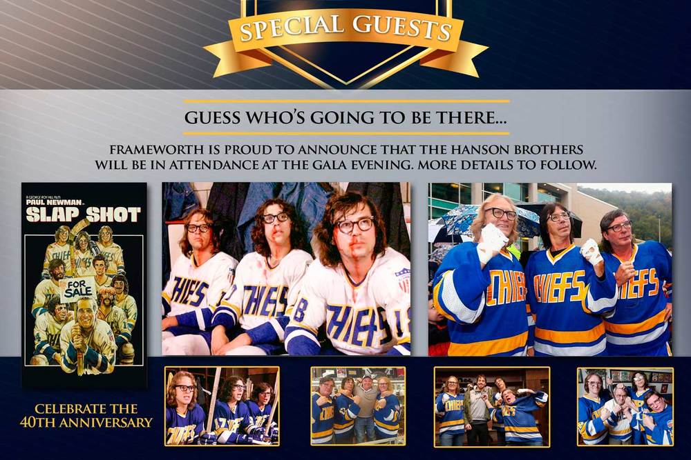 Hanson Brothers (Slap Shot) 'Eat & Greet' Exclusive Gala ...  Hanson Brothers...