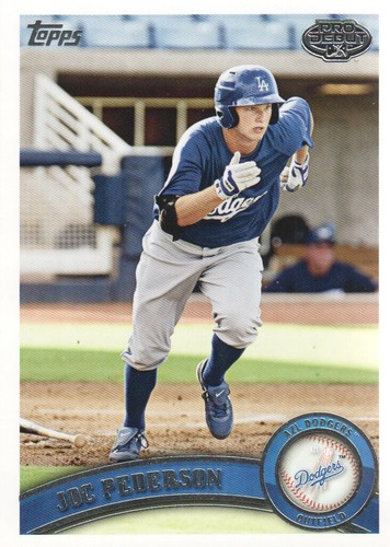 Photo of 2011 Topps Pro Debut #62 Joc Pederson Pre-Rookie Card