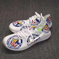 MY CAUSE MY CLEATS - LIONS COACH ALAN WILLIAMS GAME WORN CUSTOM SHOES (DECEMBER 3, 2017)