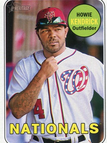 Photo of 2018 Topps Heritage #336 Howie Kendrick