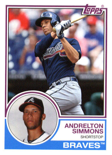 Photo of 2015 Topps Archives #260 Andrelton Simmons