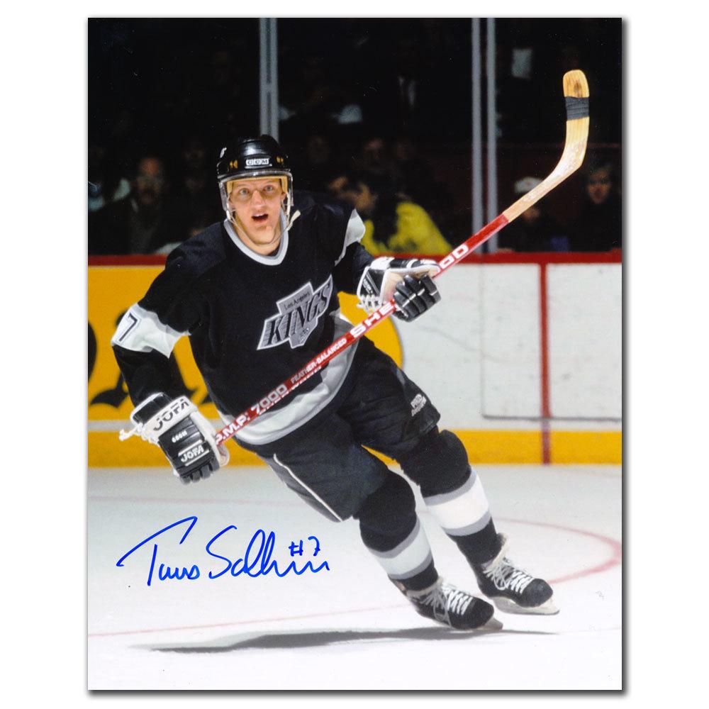 Tomas Sandstrom Los Angeles Kings Autographed 8x10