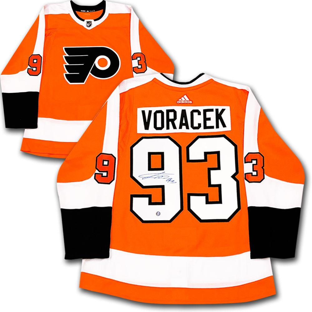 Jakub Voracek Autographed Philadelphia Flyers adidas Pro Jersey
