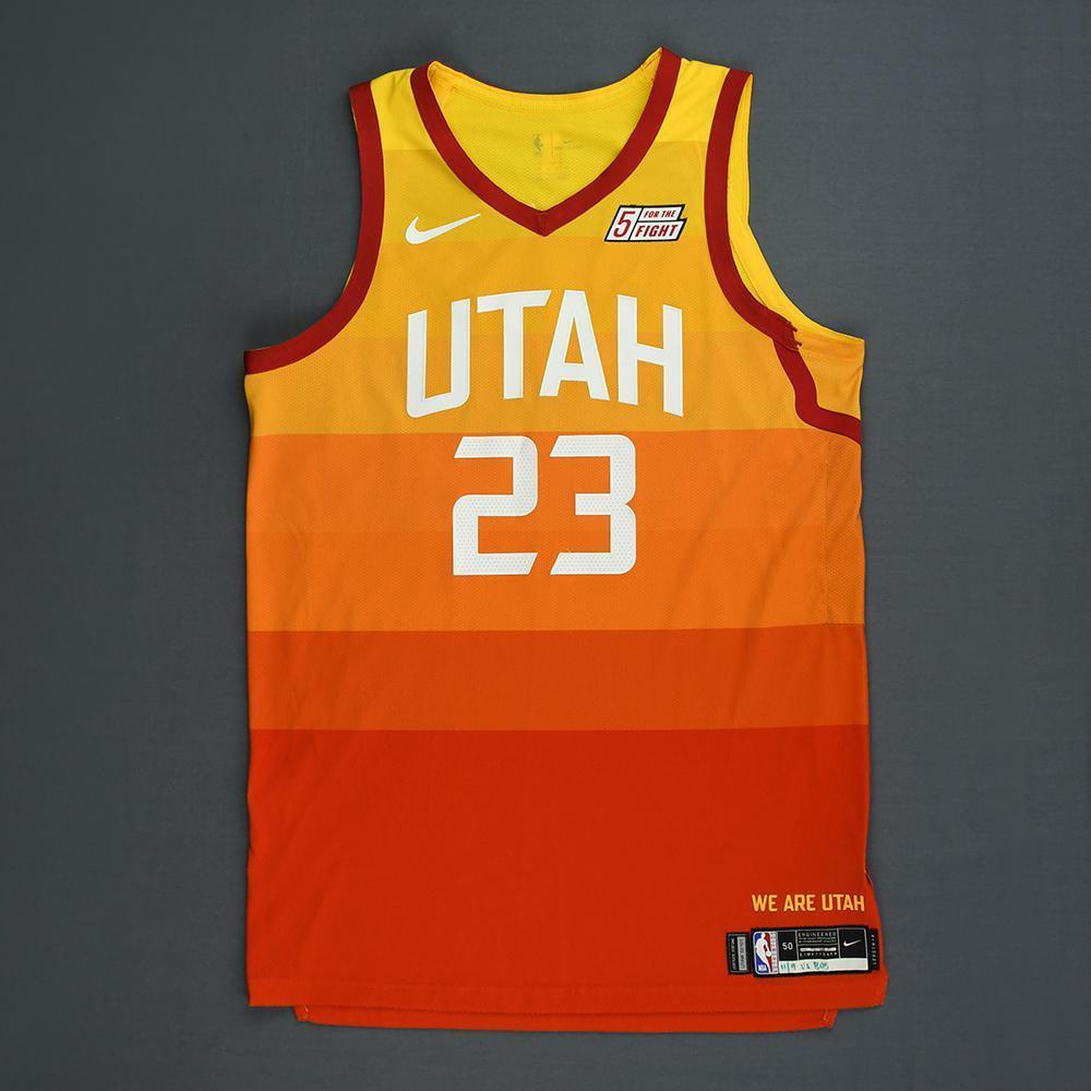 Royce O'Neale - Utah Jazz - Game-Worn City Edition Jersey - 2018-19 Season