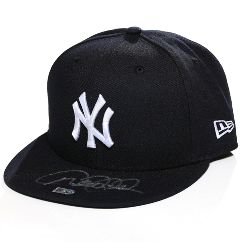 Photo of Derek Jeter Autographed New Era Cap - Choose Your Size!