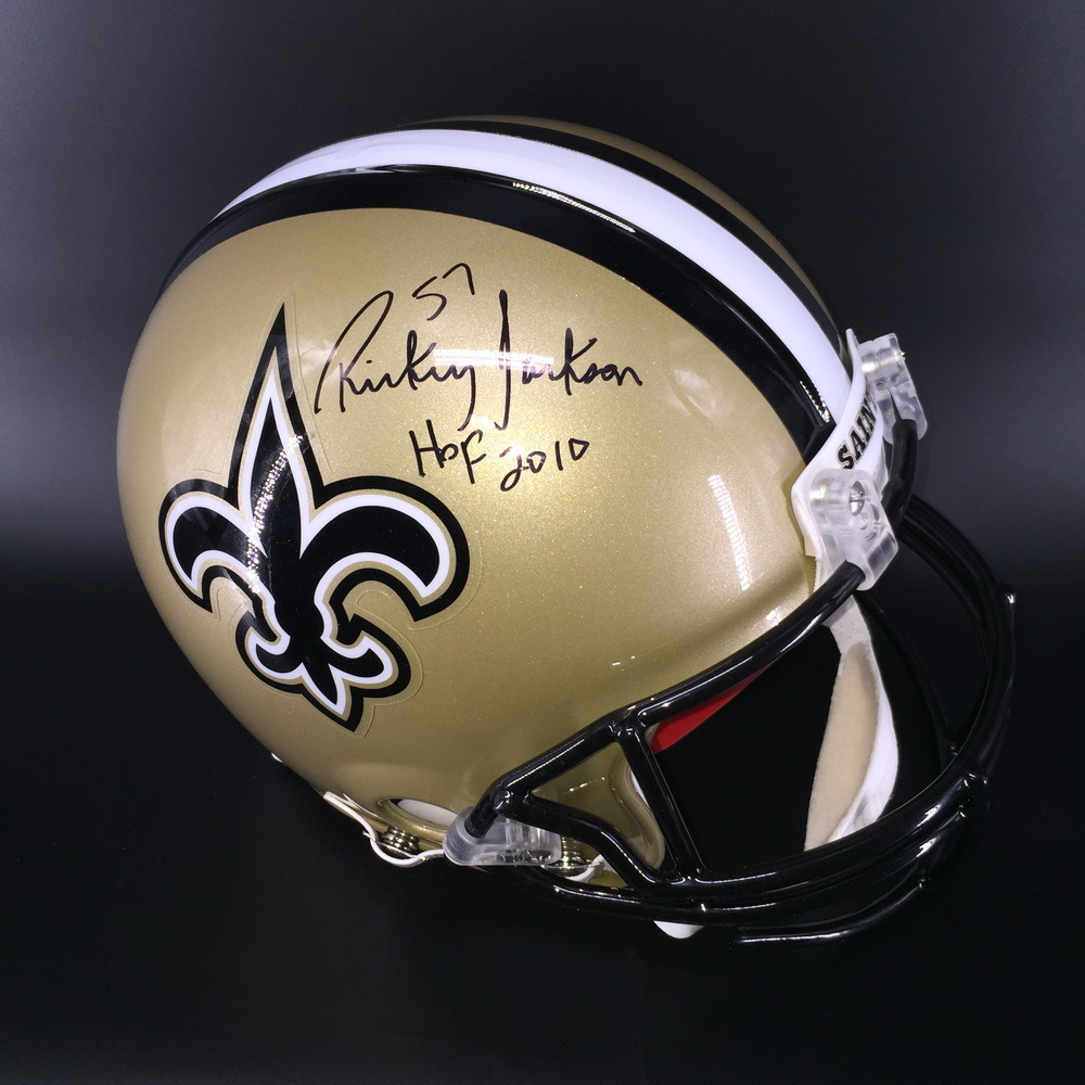 HOF - Saints Rickey Jackson Signed Proline Helmet