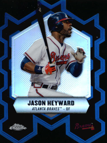 Photo of 2013 Topps Chrome Chrome Connections Die Cuts #CCJHE Jason Heyward