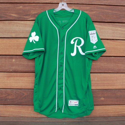 Photo of Team-Issued Saint Patrick's Day Jersey: Humberto Arteaga (Size 46)