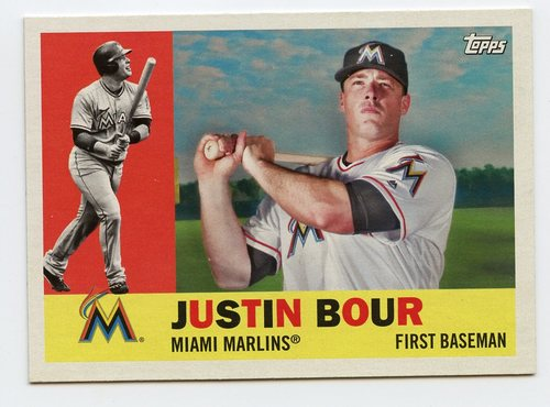 Photo of 2017 Topps Archives #41 Justin Bour
