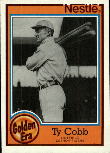 Photo of 1987 Nestle Dream Team #7 Ty Cobb