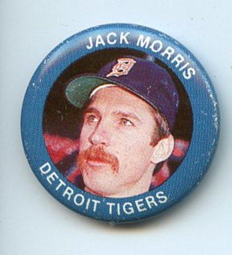 Photo of 1984 Fun Foods Pins #59 Jack Morris